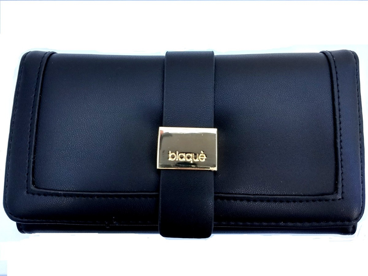 6898f820f billetera fichero cuero pu negro blaque by showroom ibbags. Cargando zoom.