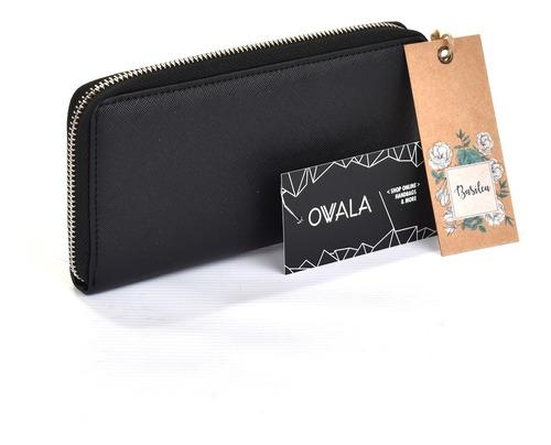 billetera fichero mujer cuero sintetico combinada basilea
