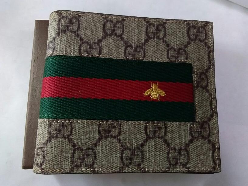 0b6eab55c Billetera Gucci Abeja Cartera Para Hombre - $ 1,699.00 en Mercado Libre