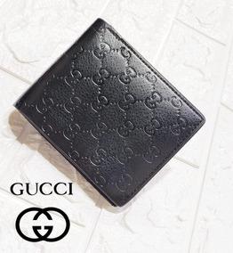 tan baratas gran venta precio loco Billetera Hombre Gucci Cuero Elegante Clasica Con Envio Grat