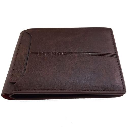 billetera hombre mango mod oldcard - 100% original cuero pu