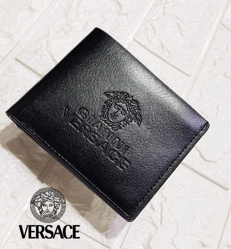 a577676a2 billetera hombre versace cuero elegante clasica con envio gr. Cargando zoom.