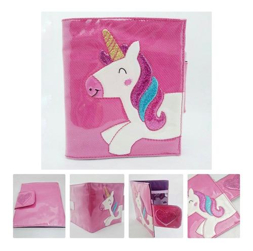 billetera infantil unicornio regalo cotillon para niñas
