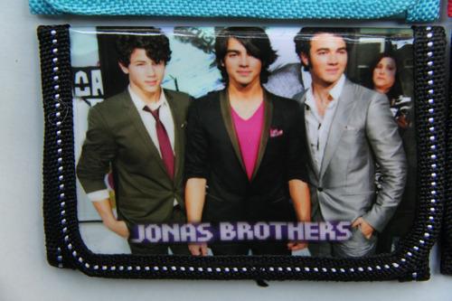 billetera jonas brothers 4 modelos diferentes