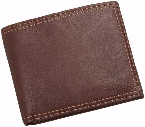 billetera levi's capacidad extra slimfold monedero original