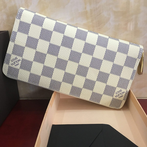 billetera louis v. envío gratis, vuitton, modelo zippy