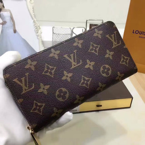 gran venta c3432 f4b8c Billetera Louis Vuitton Para Dama En Stock