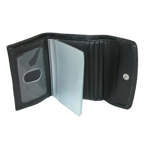 3533f712c Billetera Mini Buxton Para Mujer Con 3 Dobleces Color Negro ...