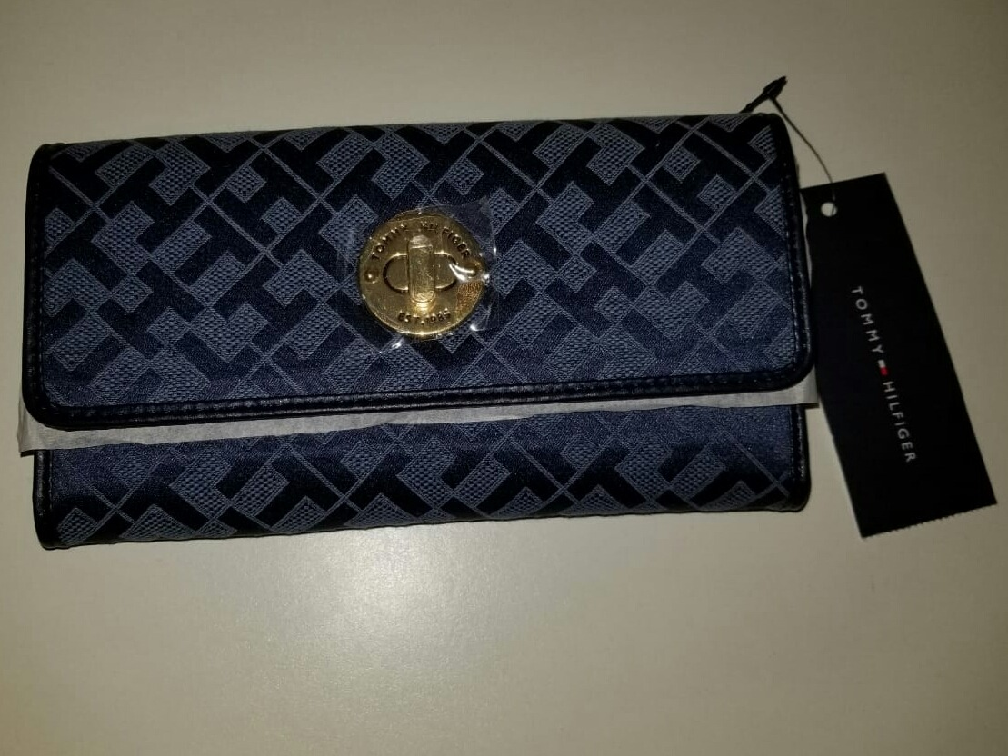 9eed5608f70 billetera monedero tommy hilfiger mujer color azul. Cargando zoom.