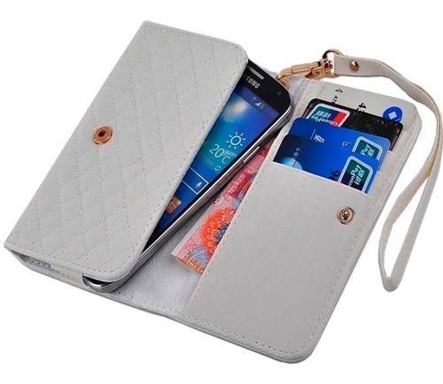 billetera mujer color compartimiento celular tarjetas dinero