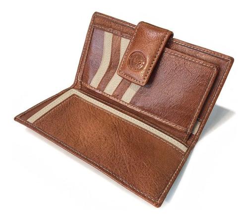 billetera mujer cuero monedero con cierre  tarjetero fichero porta documentos modelo 0057