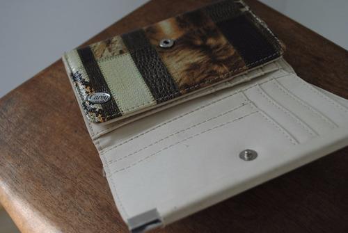 billetera mujer ecocuero