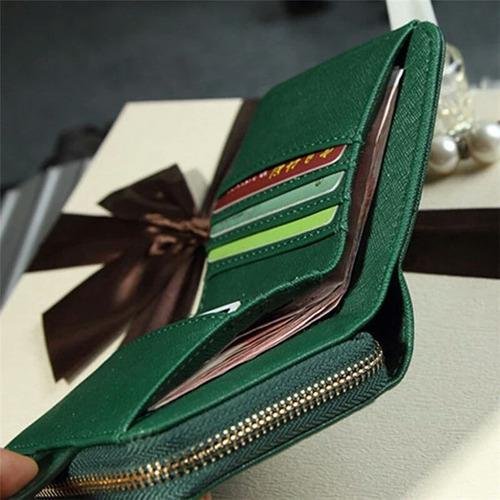 billetera mujer monedero tarjetero 3 modelos