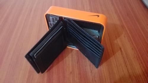 billetera nike original nueva en caja oferta 44 dolares