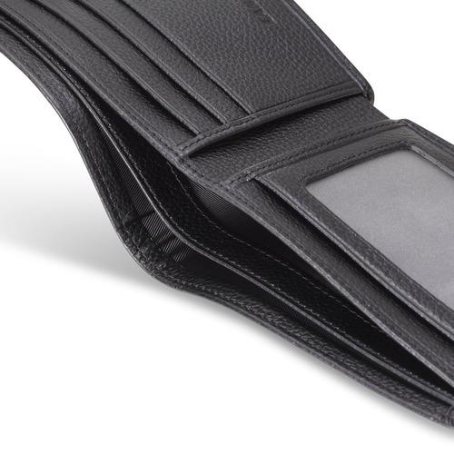 billetera nissan bifold con 3 ranuras para tarjetas de crédi