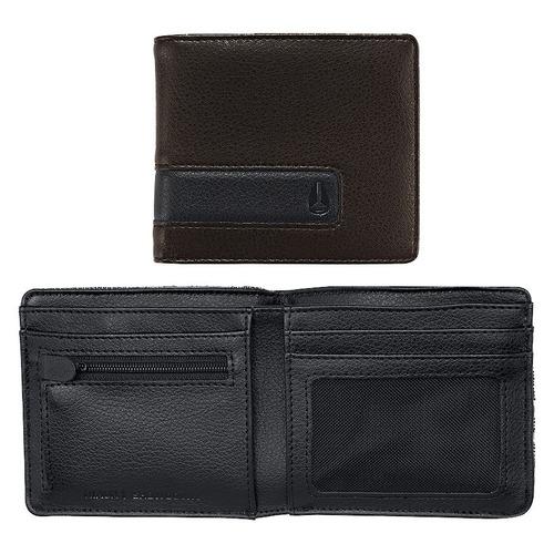 billetera nixon c943-400-00 showdown monedero cuero tela
