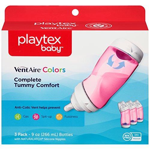 billetera para bebes playtex baby ventaire anti colic bpa pi