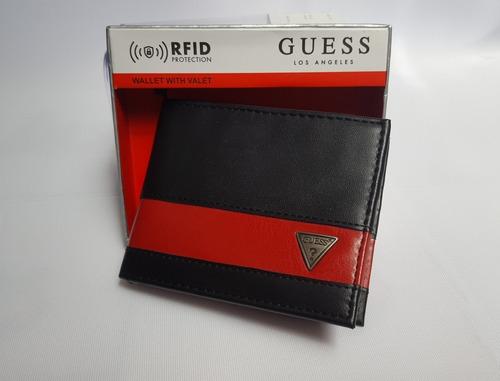 billetera para hombre guess, tommy y levis originales