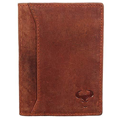 dc5c6124e Billetera Plegable De Cuero Genuino Para Hombres - Diseño ...