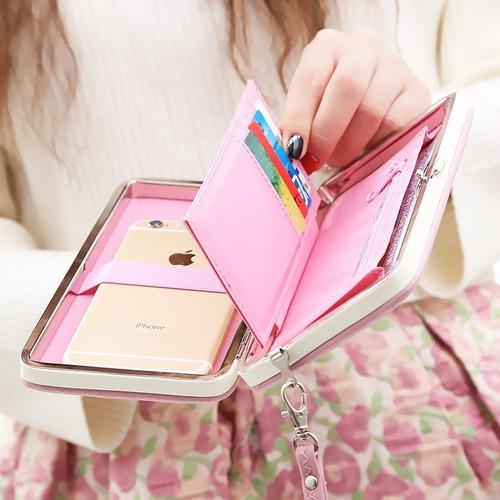 billetera porta celular 4 en 1