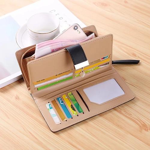 billetera porta celular dama