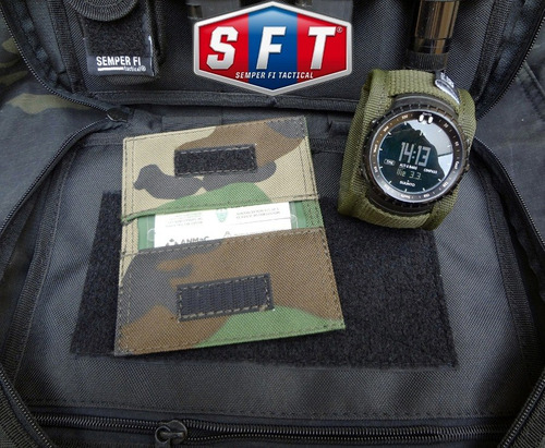 billetera porta credencial documentos de semper fi tactical®