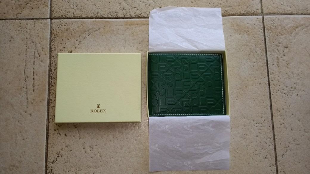 beaa526a6 Billetera Rolex Hombre Color Verde Jubilé O Marron Liso - $ 4.600,00 ...