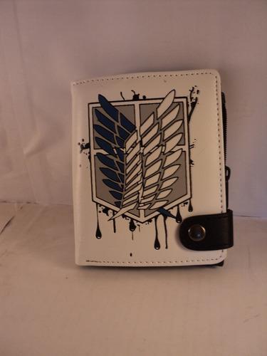 billetera shingeki no kyojin