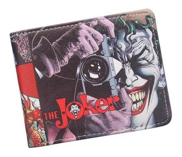 ley tsunami Telégrafo  Billetera Tarjetero Carteras El Guason The Joker - U$S 14,99 en Mercado  Libre