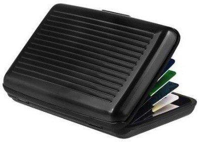 billetera tarjetero monedero aluminio billete tarjeta wallet