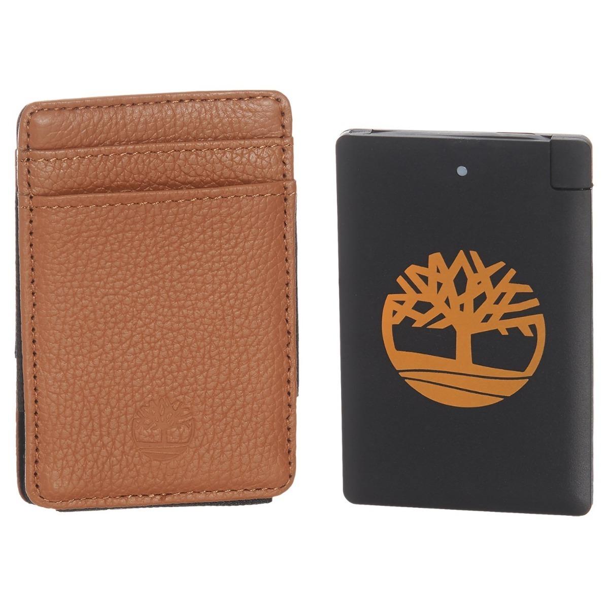 bd9fedf77 billetera timberland con cargador celular original en caja. Cargando zoom.