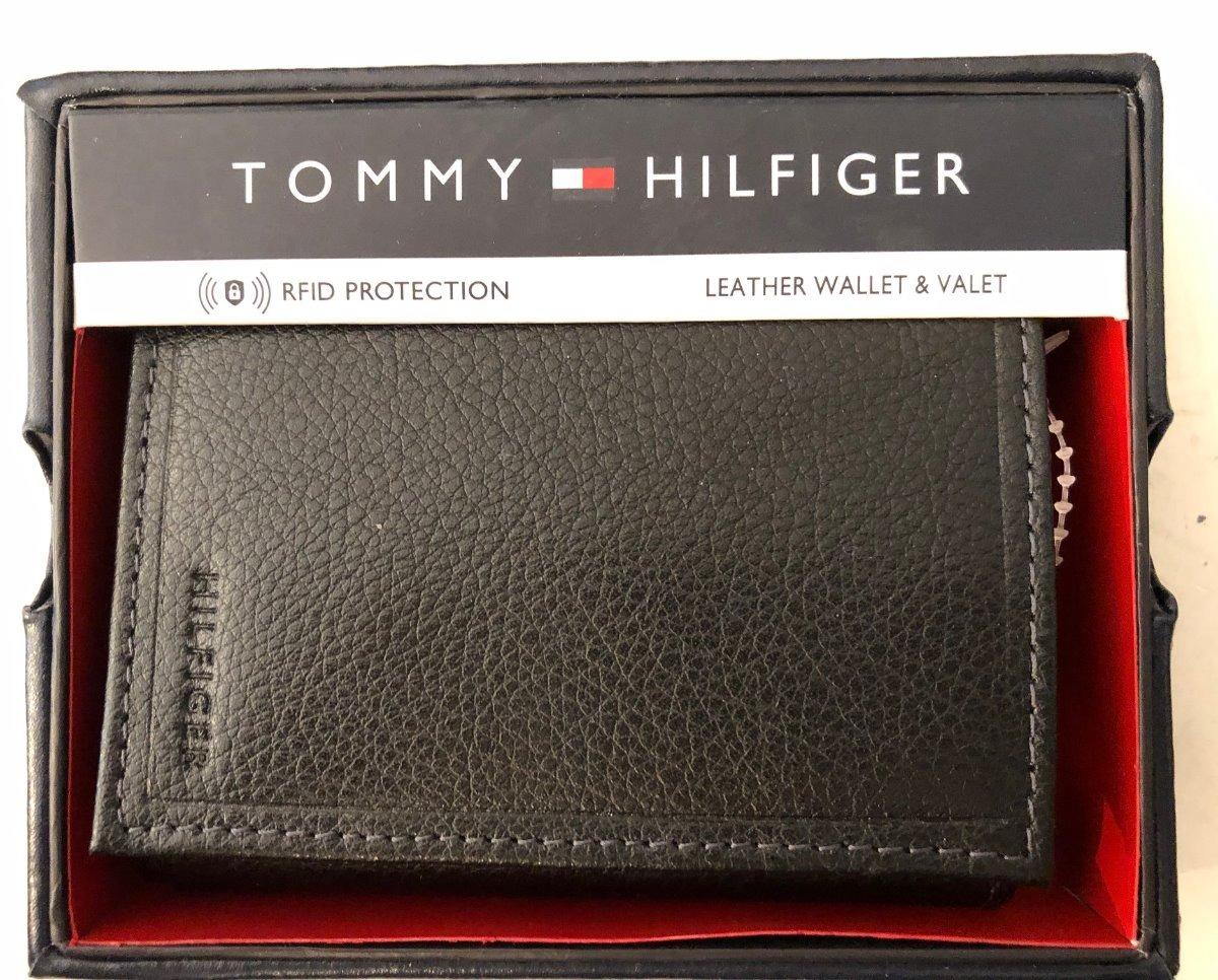 75557c745 billetera tommy hilfiger original cuero comprada en eeuu. Cargando zoom.