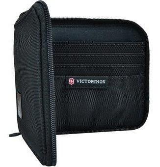 billetera victorinox access 4.0 negro zip-around 11 x 10cm