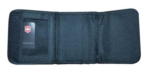 billetera  victorinox de lona para caballero importado