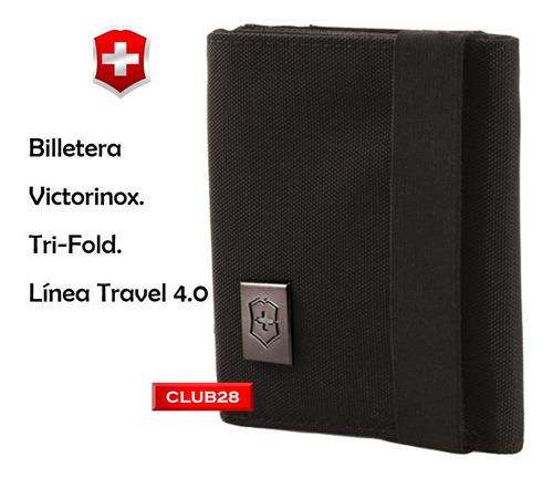 billetera victorinox tri fold  original 31372401
