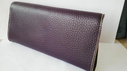 billetera y porta documentos para dama en caja original