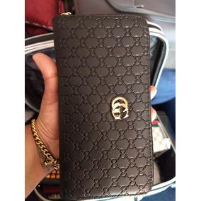 466c990e2 Billetera Gucci Mujer Cuero Negra - Equipaje, Bolsos y Carteras en ...