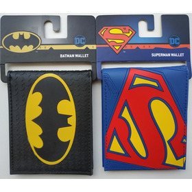 Billeteras Batman Superman Marvel Avengers Spiderman Ironman