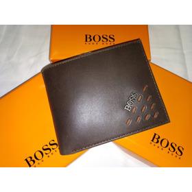 Billeteras Boss, Tommy, Mont Blanc, Cat En Cuero