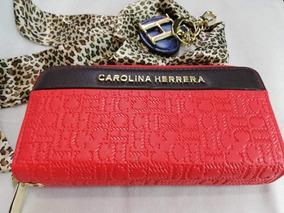 nuevo producto df1dd b53cb Billeteras Carolina Herrera