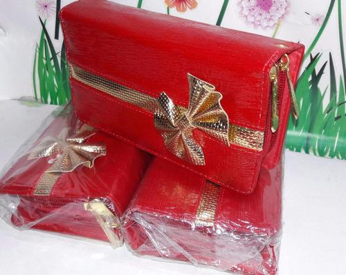 billeteras cartera color rojo fabrica colombia marroquineria