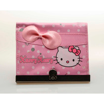 Monedero Cartera Hello Kitty Fashion Night Con Cremallera!!
