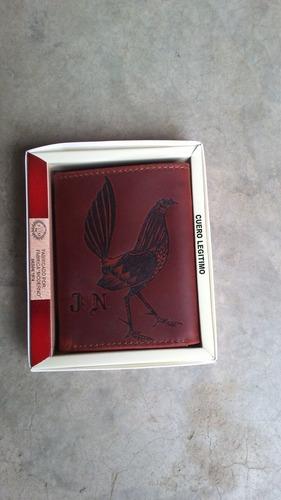 billeteras de cuero personalizadas