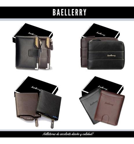 billeteras hombre baellerry en caja original (oferta)