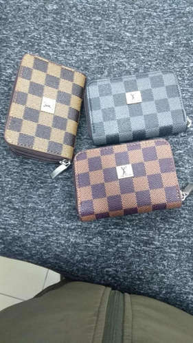 billeteras louis vuitton 3 unidades