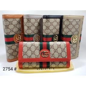 ad5d0eb76 Billeteras Para Mujer Gucci - Bolsos, Carteras y Maletines en ...