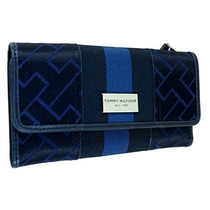 Cartera De Tommy Hilfiger Mujeres Continental Chequera Mone