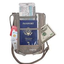 Cartera Viajes Neck Wallet, Boarding Pass Ticket Organizado