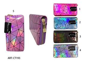 comprar online 93c92 958a4 Billeteras Para Dama Pratys Lentejuelas/holograficas/brillo