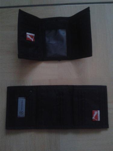 billeteras puma original para hombre